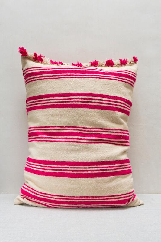 Hot pink cushion | Anajam Home