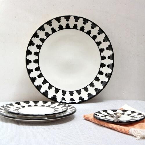 Home/CERAMICS/Caidal/Cheese plate (set of 6). ?; ? & Cheese plate (set of 6) | Anajam Home